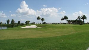 Golfing in Galveston