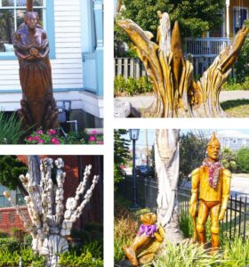 Galveston Island Oak Tree Sculptures