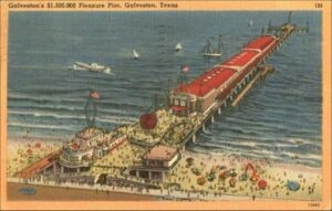 old pic of pleasure pier