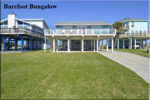 Jamaica Beach - Barefoot Bungalow - Galveston