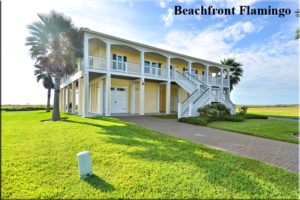 Beachfront Flamingo - Pointe West - Galveston
