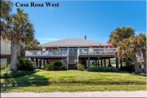 Pirate's Beach - Casa Rosa West - Galveston