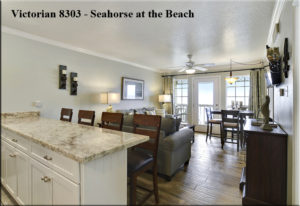 Victorian 8303 - Seahorse at the Beach