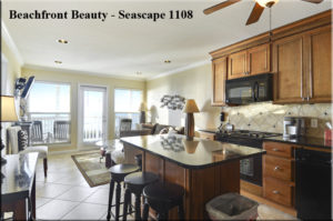 Beachfront Beauty - Seascape 1108