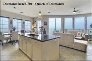 Diamond Beach 701 - Queen of Diamonds