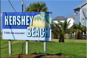 Hershey Beach Galveston Neighborhood